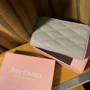 Juicy Couture Rhinestone wallet London Gray